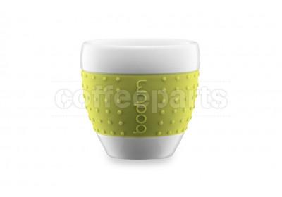 Bodum 80ml Lime Espresso Porcelain Pavina Cup