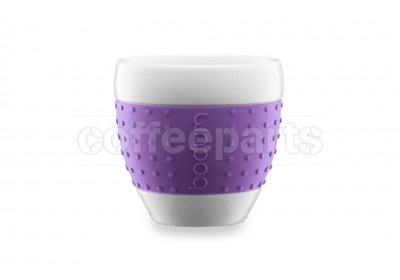 Bodum 80ml Purple Espresso Porcelain Pavina Cup