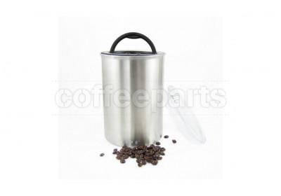 Airscape Medium Classic Coffee Storage Vault : Brushed Steel