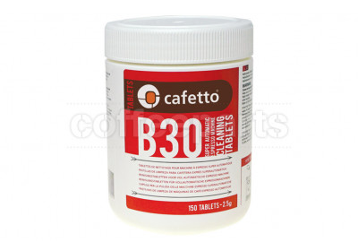 Cafetto B30 Espresso Cleaning Tablets for Super Auto (150 Tablets)
