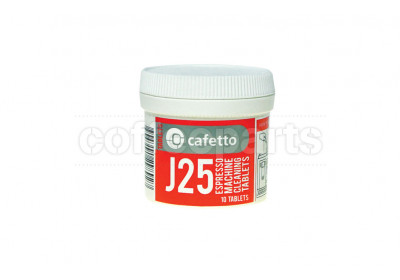 Cafetto J25 Cleaning Tablets for Jura / Krups Super Auto (10 Tablets)