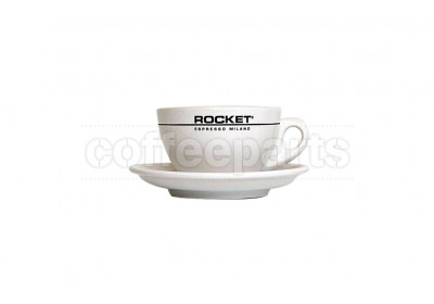 Rocket 180ml Cappuccino Cofee Cups (6 Cups/Saucers)