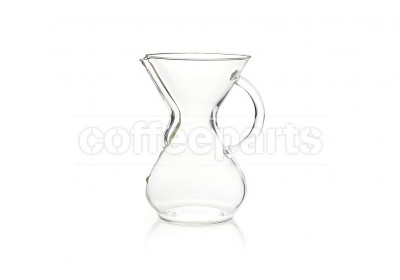 Chemex 6-Cup Original Glass Handle Coffee Pour Over Unit