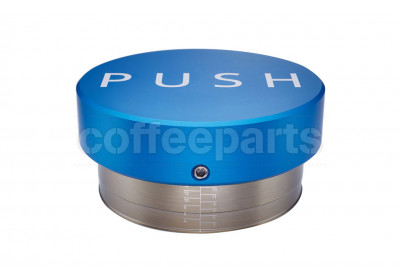 Clockworks Push Blue 58.5mm Coffee Tamper