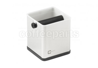 Joe Frex knock box, colour: stainless steel