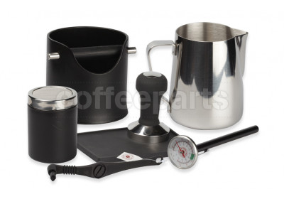 Crema Pro Black Barista Kit for machines with 58mm filter baskets