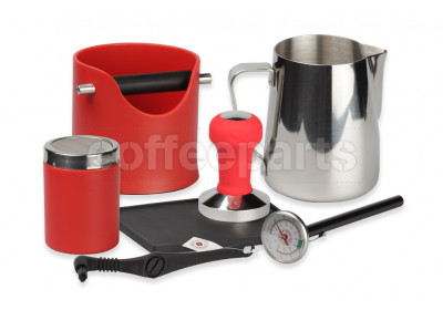 Crema Pro Red Barista Kit for machines with 58mm filter baskets