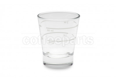 Measured 30/60ml Espresso Glass Cup