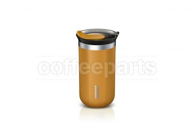 Wacaco Octaroma Lungo Vacuum Insulated Mug: Amber Yellow