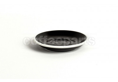 Acme demitasse saucer, 115mm diameter, colour: black