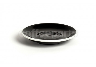 Acme standard saucer, 145mm diameter, colour: black
