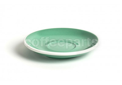 Acme latte saucer, 155mm diameter, colour: green