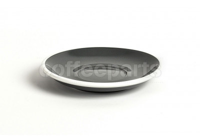 Acme latte saucer, 155mm diameter, colour: grey