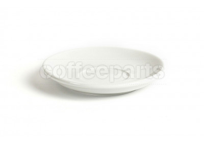 Acme latte saucer, 155mm diameter, colour: white