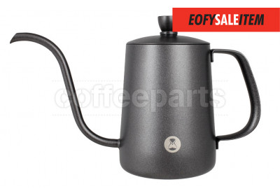 EOFY SALE - Timemore 600ml Fish Pour Over Coffee Kettle: Black