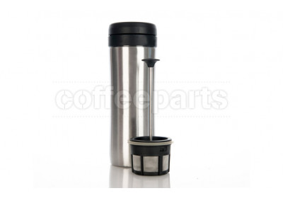 Espro Silver Coffee Travel Press - Brews 300ml, Holds 450ml