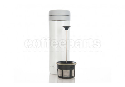 Espro White Coffee Travel Press - Brews 300ml, Holds 450ml