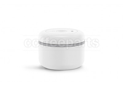 Fellow Atmos Matte White Stainless Steel Vacumm Canister : Small