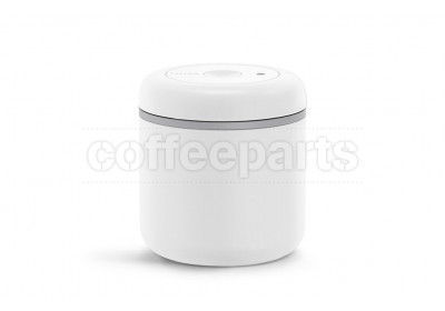 Fellow Atmos Matte White Stainless Steel Vacumm Canister : 10oz Medium