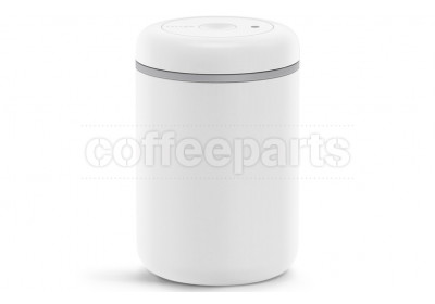 Fellow Atmos Matte White Stainless Steel Vacumm Canister : Large