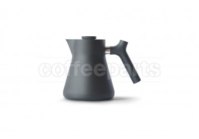 Fellow 1lt Raven Matt Black Tea Kettle