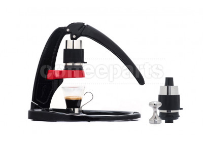 Flair Manual Press Espresso Coffee Maker Bundle with 2 Brewing Heads