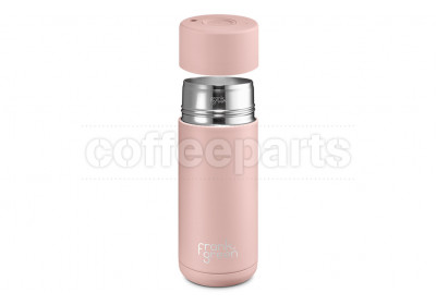 Frank Green Stainless Steel Reusable Coffee Cup - 16oz / 475ml : Nude Rose