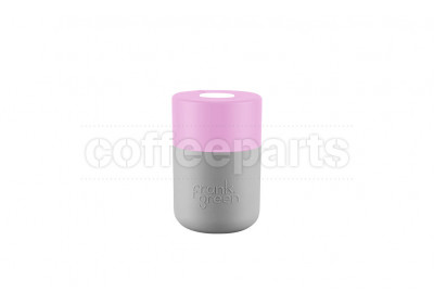 Frank Green Original SmartCup - 8oz / 230ml : Pink/Grey