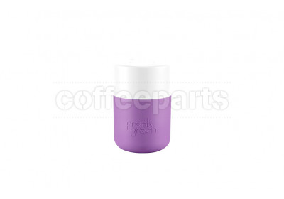 Frank Green Original SmartCup - 8oz / 230ml : White/Purple