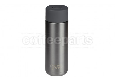 Frank Green Stainless Steel Reusable Bottle - 20oz / 595ml : Gun Metal