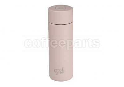 Frank Green Stainless Steel Reusable Bottle - 20oz / 595ml : Nude Rose