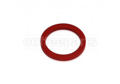 Group head gasket/seal 73x57x8mm red silicon