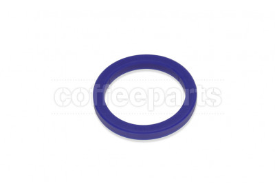 Group head gasket/seal 73x57x8.5mm blue silicon