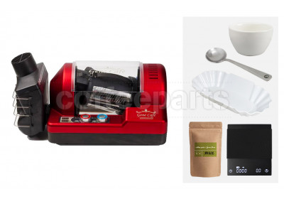 Genecafe Home Roaster Bundle: Red