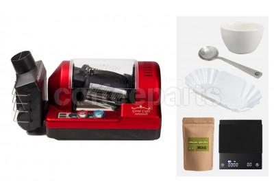 Genecafe Home Roaster Bundle: Red