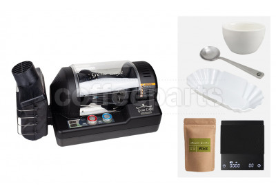 Genecafe Home Roaster Bundle: Black
