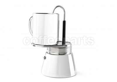 GSI Stainless Steel Mini Espresso Set : 4 Cup