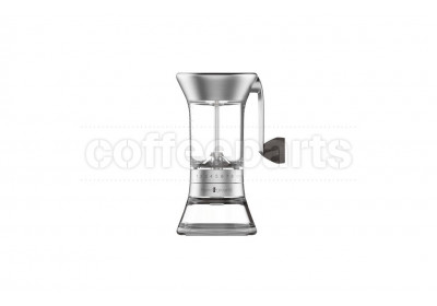 Handground Nickel Precision Portable Hand Coffee Grinder