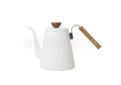 Hario Bona White Coffee Drip Kettle - 800ml