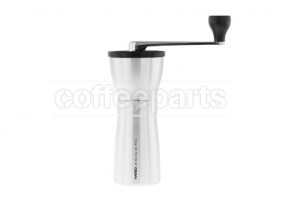 Hario Coffee Mill Slim Pro Hand Coffee Grinder : Silver