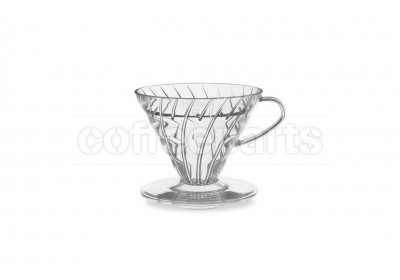 Hario 1-Cup V60 Clear Plastic Coffee Dripper