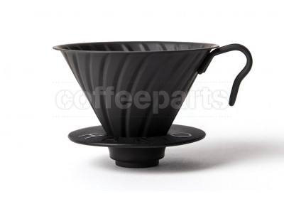 Hario 2-Cup V60 Matte Black Metal Coffee Dripper