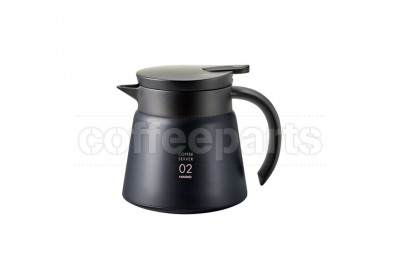 Hario V60 Insulated Stainless 600ml Server - Black