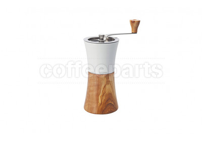 Hario Ceramic Coffee Mill Wood Hand Grinder