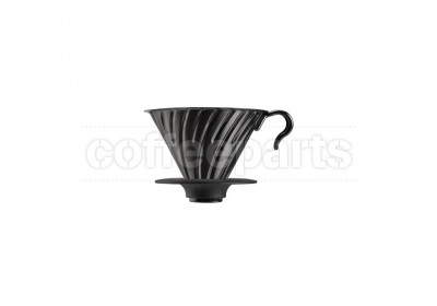Hario 2-Cup V60 Black Metal Coffee Dripper