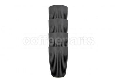 EOFY SALE - Huskee Set of 4 Charcoal Cups 12oz (295ml)