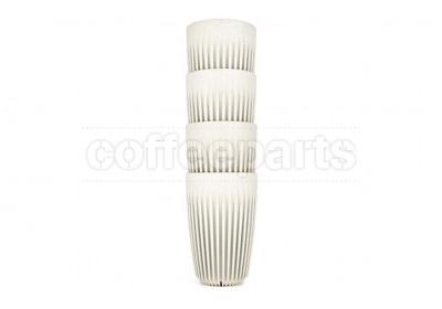 EOFY SALE - Huskee Set of 4 Natural Cups 12oz (295ml)