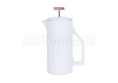Yield Design Cream Ceramic 850ml Coffee French Press