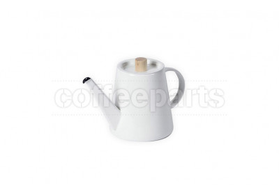 Kaico 950ml White Enameled Pour Over Drip Coffee Kettle