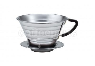 Kalita Stainless Wave Coffee Dripper 185